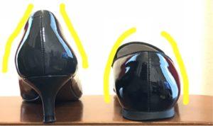 自分に合う靴がない 選び方 パンプス かかと